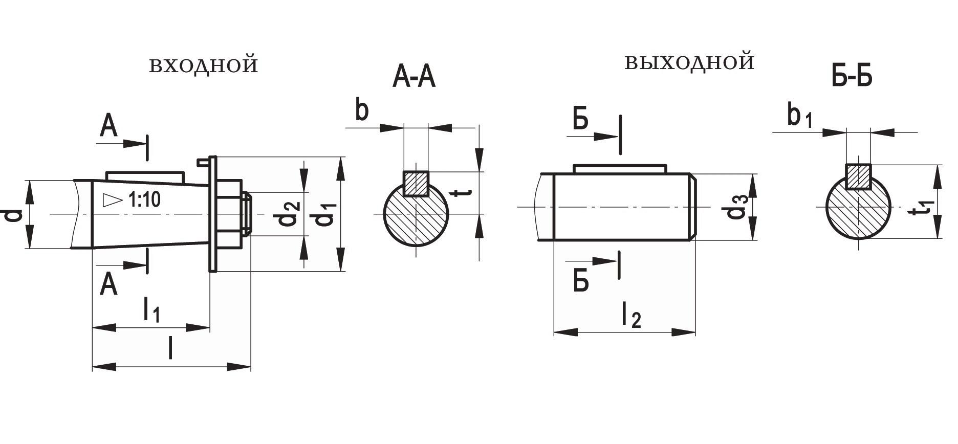 схема редуктора ц2у-160
